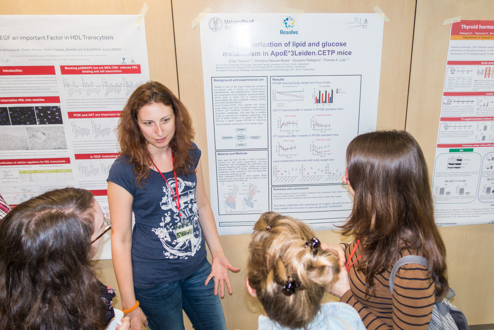 <p>More impressions from the poster session</p>