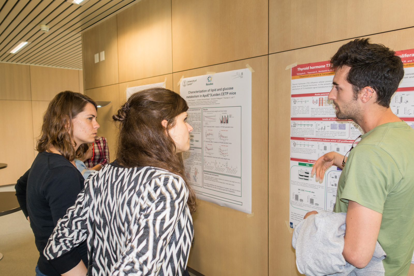 <p>Impression from the poster session</p>